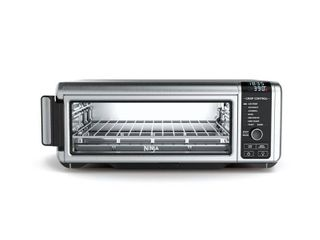 The Ninja Foodi Digital Air Fry Oven with Convection  Flip Up and Away to Store SP101