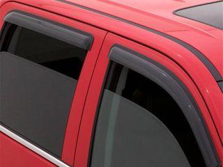Auto Ventshade 94383 Original Ventvisor Side Window Deflector Dark Smoke  4 Piece Set for 2013 2018 Ford Escape