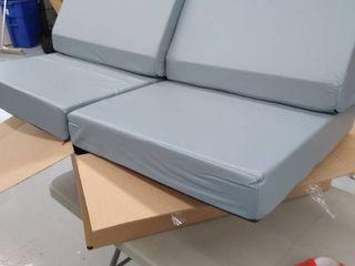 Grey foldable Cushions   Boat