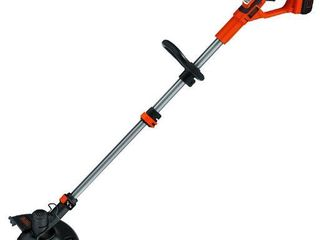 USED BlACK DECKER lST136 40V MAX  lithium High Performance String Trimmer with Power Command