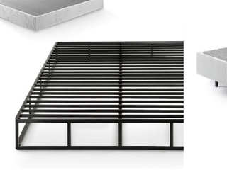 Zinus Victor 9 Inch Quick lock Box Spring   Mattress Foundation   King    not Inspected