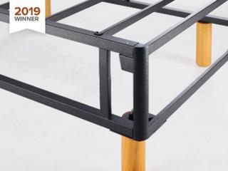 Zinus 11 Inch Quick Snap Standing Mattress Foundation low Profile Platform Be