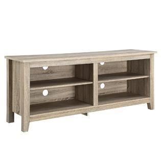 Wood TV Stand for TVs up to 60  damaged