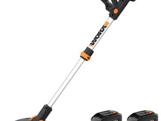 WORX WG163 GT 3 0 20V PowerShare 12  Cordless String Trimmer   Edger  12in USED  NO BATTERIES OR CHARGER