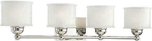 Minka lavery Wall light Fixtures 6734 1 613  1730 Series Reversible Bath Vanity lighting  4 light  400w  Polished Nickel