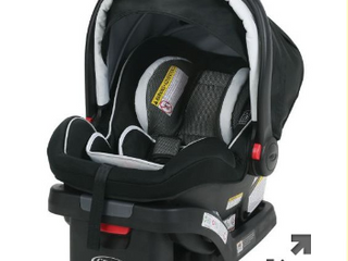 Graco 35 lx Infant Car Seat Baby Car Seat Adjustable Base Rear Facing Up 35 lbs