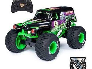 Monster Jam Grave Digger remote control car