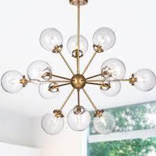 Valeria 12 light Gold Sputnik Sphere Chandelier  Retail 153 99