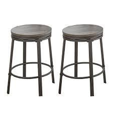 steve silver co perry grey counter height stool set of 2