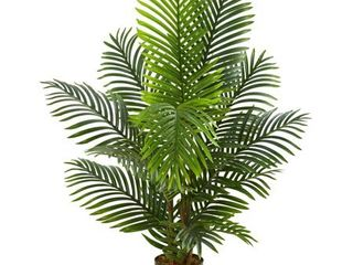 4  Paradise Palm Artificial Tree   h  4 ft  w  13 in  d  13 in  Retail 77 98