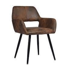 Carson Carrington Ignesta Scandinavian Style brown chair 1 only