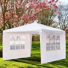 10x10 ft Upgrade Spiral Interface Wedding Party Canopy Tent