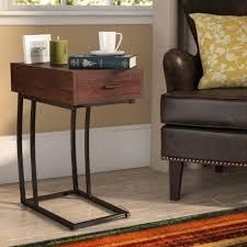 aviara cup holder accent table brown