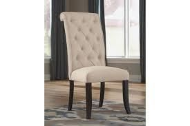 triton upholstered side chair 1 only ivory