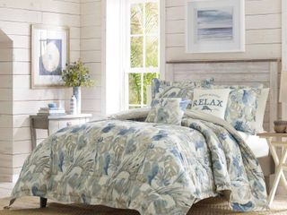 Tommy Bahama Raw Coast Cotton Bonus Comforter Set  Retail 212 49
