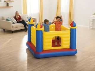 Jump or lene Bouncy Bouncy Castle for Ages 3 6 Years   USED