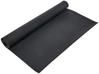 Rubber Cal Roll Up Elephant Bark Floor Mat   Black  1 4 Inch x 4 x 9 Feet