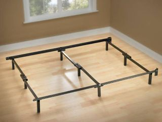 Sleep Revolution Compack Bed Frame with 9 leg Support System  76 by 70 5 by 7 Inch