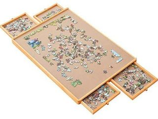 Standard Size  29 A21  Puzzle Board  Puzzle Table  Puzzle Tables for Adults  Puzzle Boards and Storage  Jigsaw Puzzle Table  Puzzle Tray  Weight  8 8 lBS  4 KGS