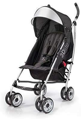 Summer 3Dlite Convenience Stroller  Black
