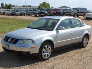 2001 Volkswagen New Passat GLX AWD V6