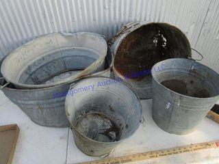 BUCKETS   PANS