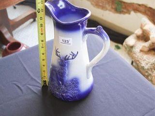 Ceramic Moose Pitcher