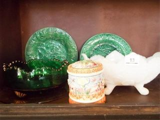 Group of Glass Ceramic Items Chips see pics