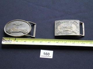 Chevrolet   Ford Belt Buckles