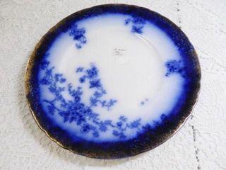 laBelle Flow Blue Plate  9  diam