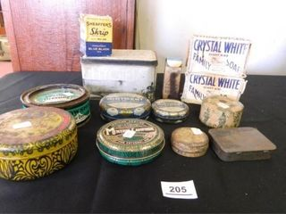 Collectible Tins  Assorted Items   13