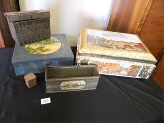 Collectible Tins  Assorted