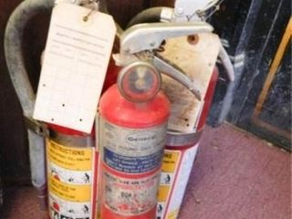 Fire Extinguishers  1 dated 1990 s