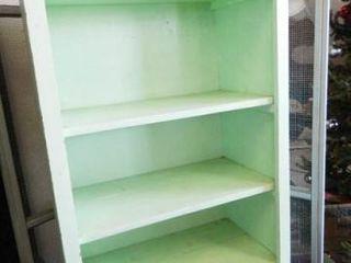 Wooden Shelves  Green
