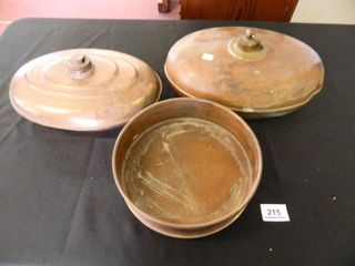 Antique Copper Bed Warmers   2
