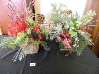 Christmas Floral Arrangements  2