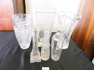 Crystal Vases 2  Bud Vases 3