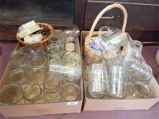 Canning Jars and supplies