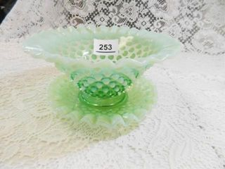 Hobnail Bowl w Underplate