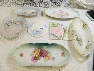 Hand painted Dishes   Tiles   7