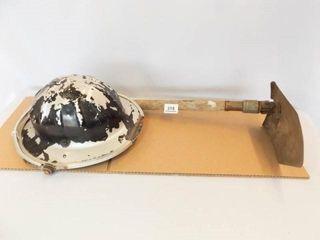 Safe T Hat  Folding Shovel