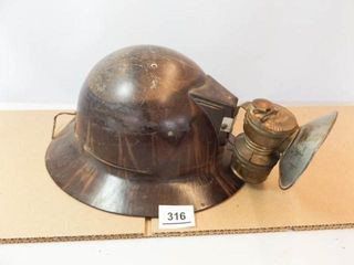 Mining Helmet with light