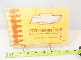 1970 Chevrolet Truck Manual