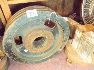 Fairbanks Grain Farm Scale Wheel