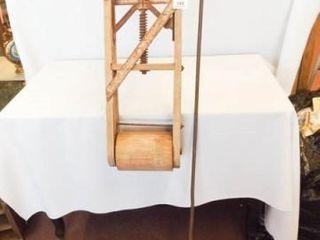 Primitive Wringer wood   Metal Tool