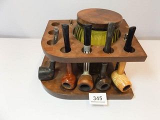 Humidor  Pipe Holder  Pipes  5