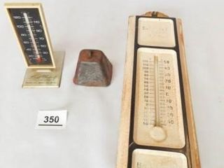 Advertising Thermometers  2  Bell
