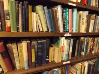 Books   2 Shelves  75  books