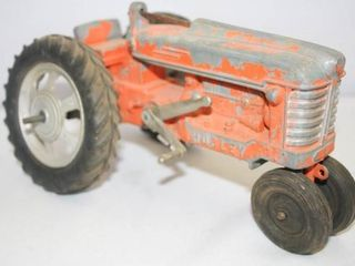 Cast Metal Hubley Tractors large and small