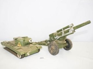 Plastic Military Toys  Marked Made in USA